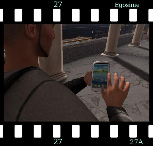 Egoisme smartfon
