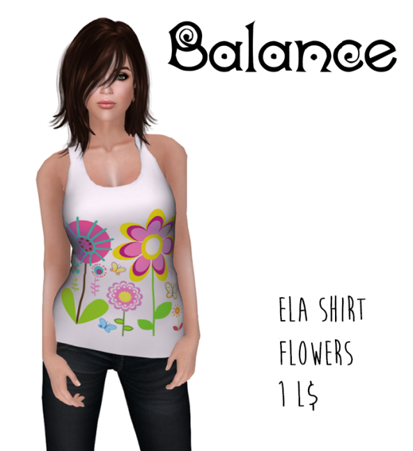 ela shirt flowers